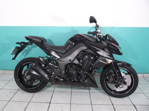 Kawasaki Z 1000 Abs 2012 Preta