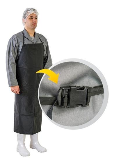Avental De Pvc Preto Cozinha Industrial Com Ca Unidade