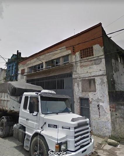 2033 - Santos - Valongo - Galpão - 13,50 X 50,00