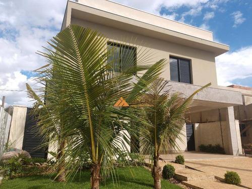 Casa À Venda, 300 M² Por R$ 1.500.000,00 - Quinta Da Primavera - Ribeirão Preto/sp - Ca2033