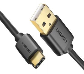 Ugreen Cable Usb Tipo C Carga Rápida 3a Original Datos 2m