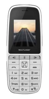 Celular Barato 2 Chips Pequeno Promoção Telefone Multilaser Para Chamadas Ligações Com Botões Multimídia Para Música Mp3