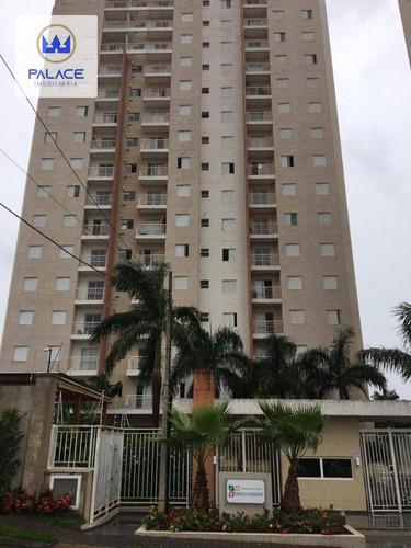 Apartamento Com 2 Dormitórios Para Alugar, 69 M² Por R$ 1.000,00/mês - Parque Conceição Ii - Piracicaba/sp - Ap0724