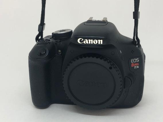 Câmera Canon Eos Rebel T3i Semi Profissional Completa Único