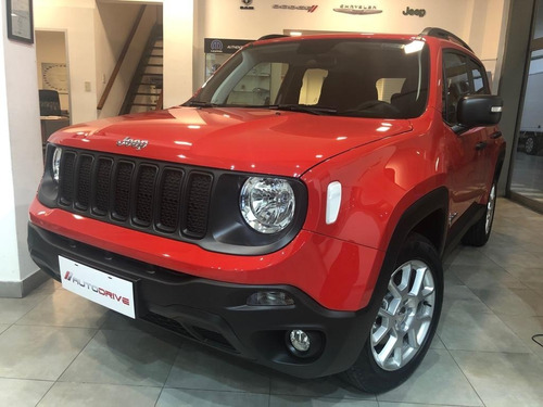 Jeep Renegade Sport Mt/ Financiada En Pesos/ Tasa 0% Real