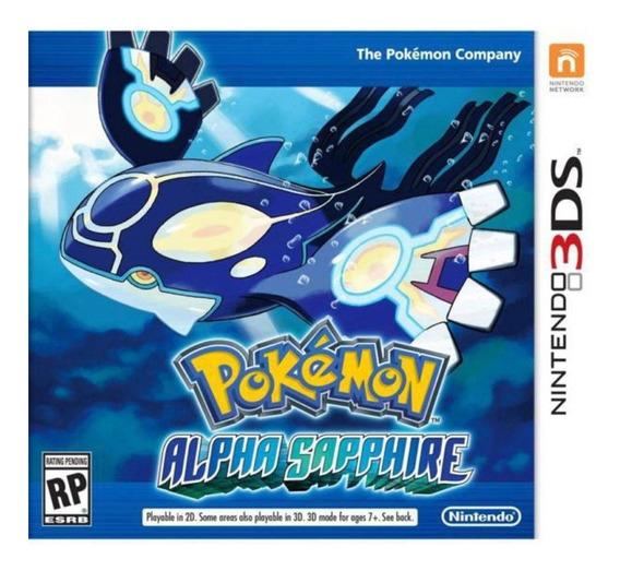 Jogo 3ds Pokémon Alpha Sapphire - (novo Lacrado)