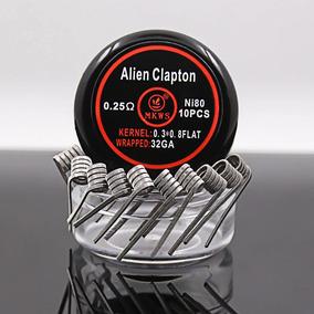 Alien Clapton Ni80 10pcs .25 32ga + Brinde