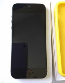 f68716156bf iPhone 5s Negro/plata 4g En Caja Libre Con Accesorios