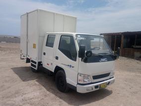 Jmc Camioneta Lineal Doble Cabina Con Furgon Año 2015