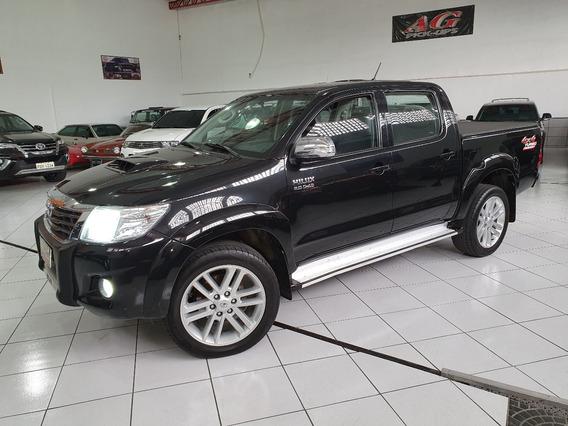 Toyota Hilux Dupla Srv Top 3.0 4x4 Diesel Aut Rd20 Ctr Traçã