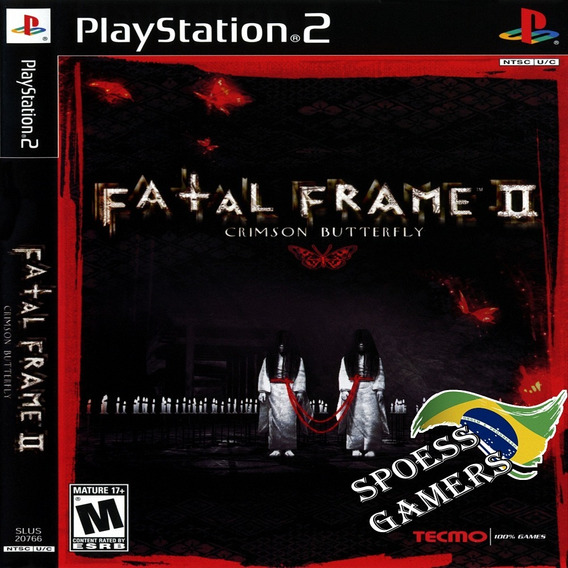 Fatal Frame 2 Ps2 Crimson Butterfly Patch..