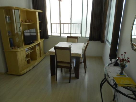 Aparecida- 2 Dormitórios-wc Emp-moderno-elev-50 Mts Praia!