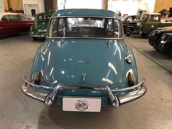 Dkw Bellcar 1000 Ano 1964 4 Portas Azul
