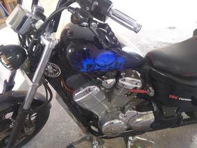 Vendo Moto Shadow 600, Estilizada, Linda E Completa