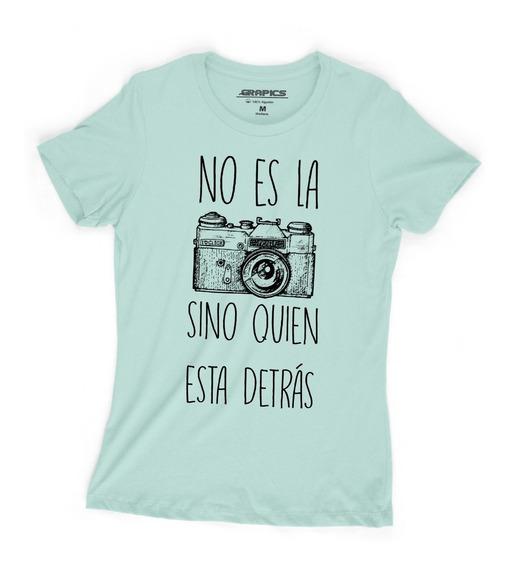 Playera Grapics Fotografa Camara Camiseta Fotografia Dama