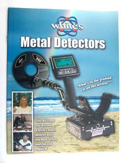 White´s Detector De Metales Tesoros Catálogo 2007
