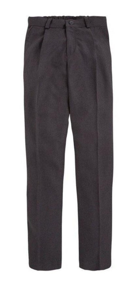 Pantalon Mecanico Colegial Suroger Gris Y Azul T4 Al 8 Tutim