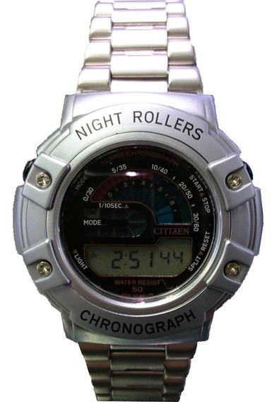 Relógio Citizen Night Roller - Mc4000-51e