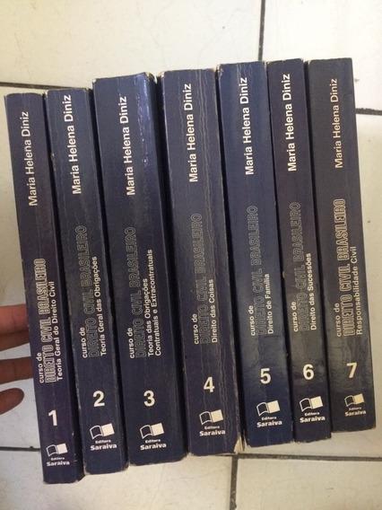 Curso Direito Civil Brasileiro 7 Vols - Maria Helena Diniz