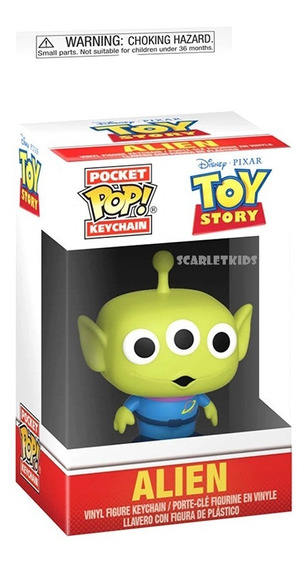 Funko Pop Llavero Toy Story Disney Original Scarlet Kids