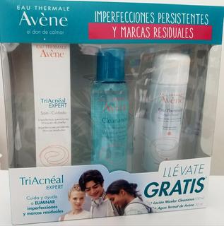 Triacneal Expert + Agua Micellar + Agua Termal -avene-