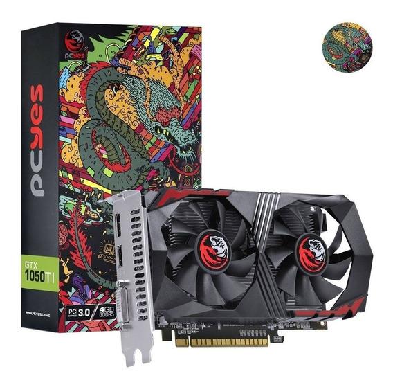 Vga Placa De Video Nvidia Geforce Gtx 1050ti 4gb Gddr5 Pcyes Original Lacrado C/ Garantia
