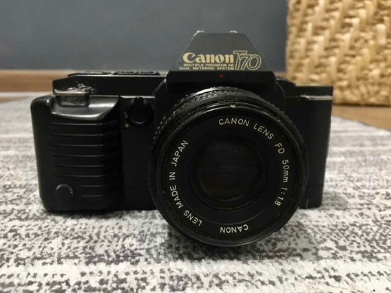 Câmera Antiga - Cânon T70