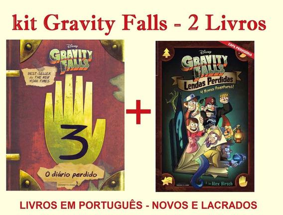 Kit Gravity Falls: Diário Perdido + Lendas Perdidas - Novos
