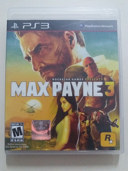 Max Payne 3 Ps3 100% Original