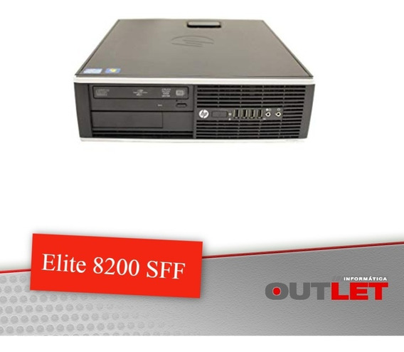 Computador Hp Elite 8200 Sff I5 3.33ghz 8gb 320gb + Serial