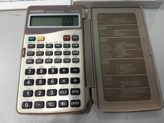 Calculadora Financeira Aurora Fn1000 Semi Nova Frete Grátis