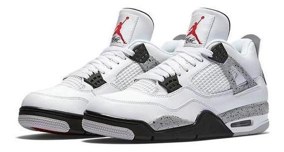 Nike Air Jordan 4 Og White Cement # Promoção