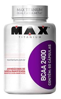 Bcaa 2400 - 60caps - Max Titanium - Promo