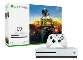 Xbox One S 1t + 1 Controle + 1 Jogo Via Download