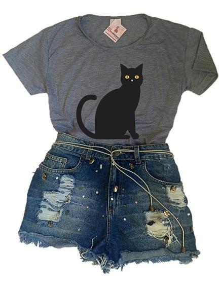 Blusa Tshirt Feminina Tumblr Baby Look Atacado Varejo Barato