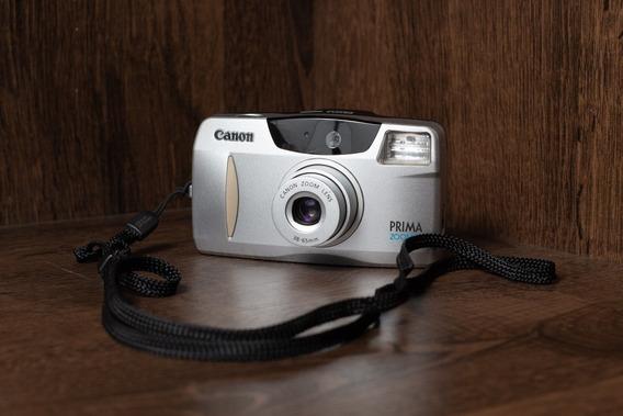Câmera Analógica Compacta Canon Prima Zoom 65