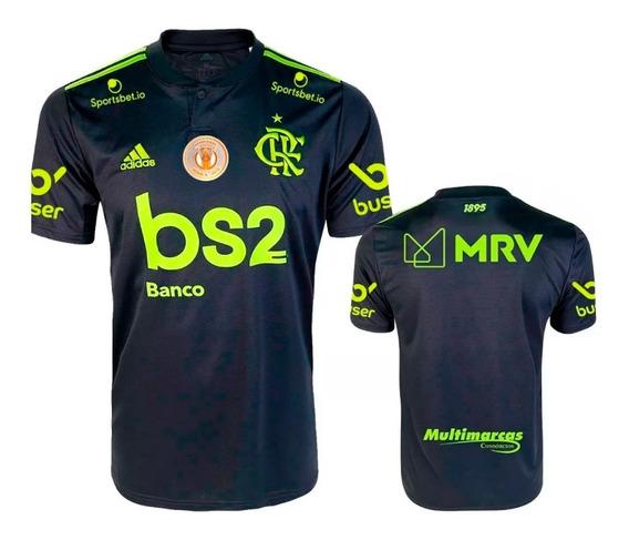 Camisa Flamengo Preta 2019 - 2020 Oficial Pronta Entrega