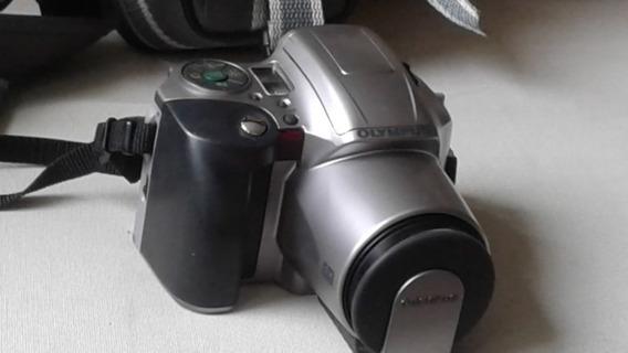 Câmera Fotográfica Olympus Is-200 35 Mm Estojo Profissional