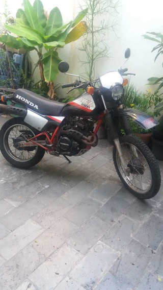 Honda Xlx Preta Ano 1987 Guardada 12 Anos Licenciada 09/2020