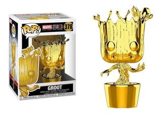 Funko Pop : Marvel Studio - Groot Gold #378