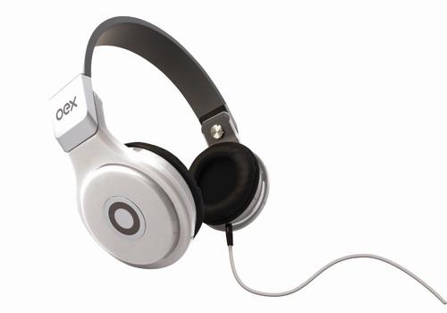 Fone De Ouvido Com Microfone Oex Groove Hp102 - Branco