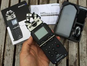 Gravador Digital Zoom H5 4 Canais + Acessorios + Case + 2gb