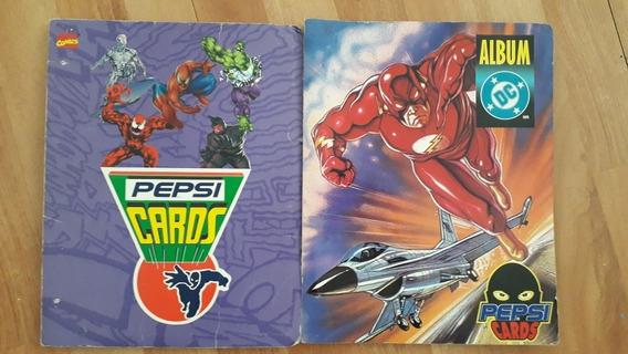 Pepsi Cards Marvel Y Dc, Colecciones Originales Completas