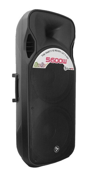 Parlante Activo Doble Pl5600x 15 Pulgadas Usb Fm Y Bluetooth