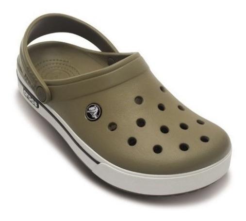 Crocs Crocband Shoe Khaki