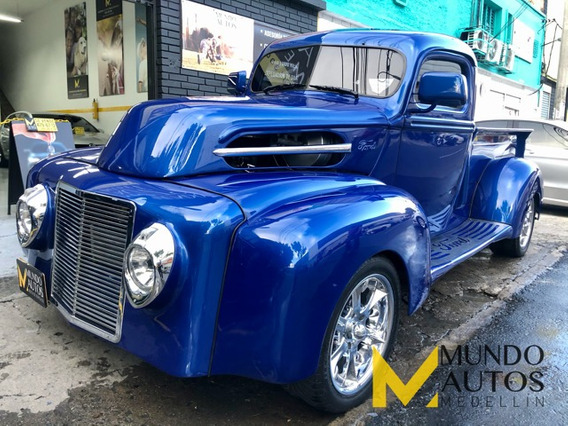 Ford Pick Up 1947 V8 At 5.7 Chevy Overhaulin