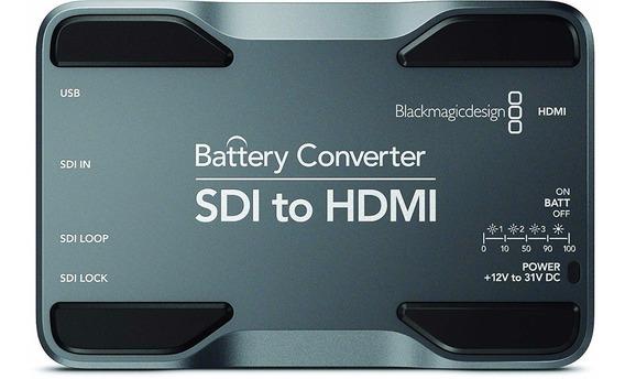 Bateria Conversora Sdi Hdmi Blackmagic Design Recarregavel