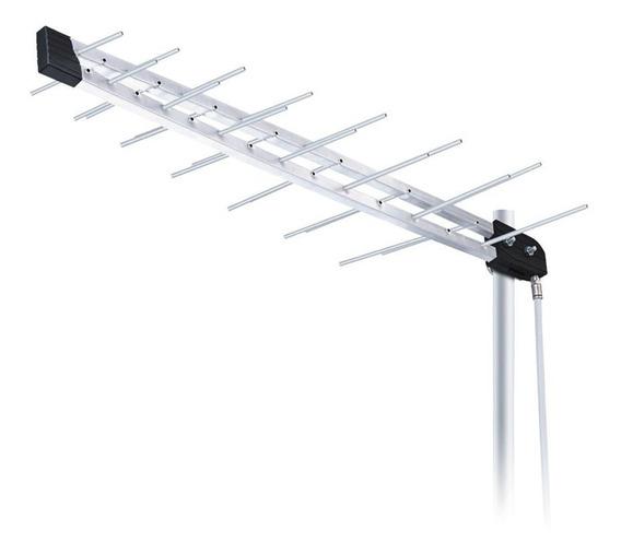 Antena Externa Aquario Lu-14c Log Periodica Digital Uhf/hdtv