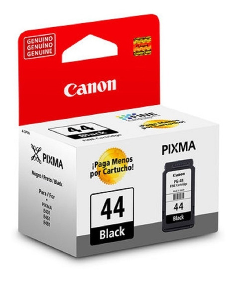 Kit Cartuchos Originais Canon Pg-44 Cl-54 - E481, E401, E461