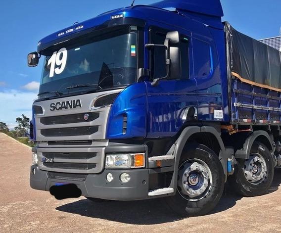 Scania P310 8x2 Bitruck (parcelado Via Contrato)